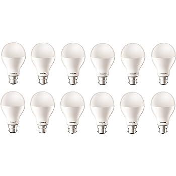 Philips 17-Watt LED Bulb (Pack of 12, Cool Day Light)