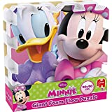 Jumbo Games Minnie Mouse Giant Foam Floor Puzzle 9 Pieces 89cm x 89cm (Se distribuye desde Reino Unido)