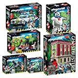 PLAYMOBIL 9219-20-21-22-23-24 Ghostbusters™ 6er-Komplett-Set