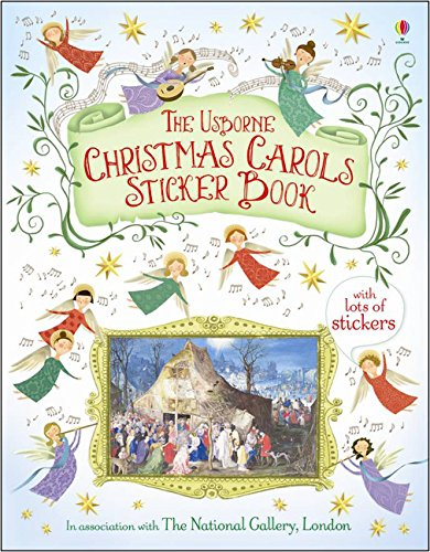 Christmas Carols Sticker Book (Sticker Books)
