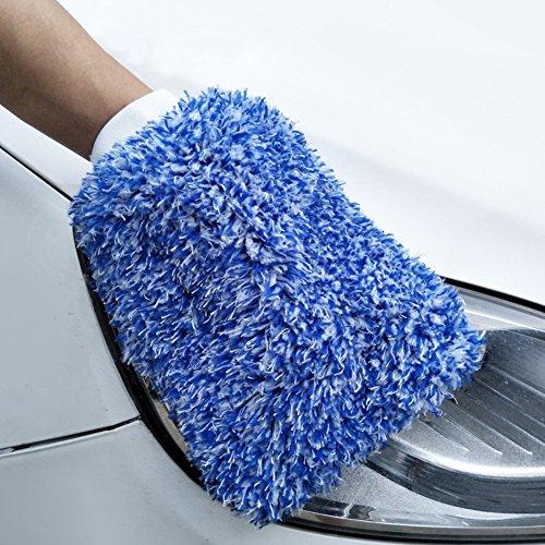 Greenlans Mikrofaser Soft Auto Care Wash Handschuhe Auto Wachs Details Pinsel Reinigung Werkzeug - Detail Wachs