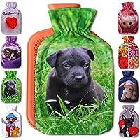 Wärmflaschenbezug 1L, mit und Ohne Wärmflasche 1 Liter, Auswahl: Labrador Welpe, mit Wärmflasche preisvergleich bei billige-tabletten.eu