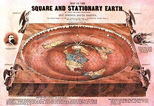 Tierra Plana: O. Ferguson 'Square & Stationary Earth