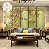 Tapete Experten der chinesischen flower-and-bird Tapete mit Wandbilder TV-Nahtlose Wänden des Lebens room3dvideos Wandtattoo Tapete,