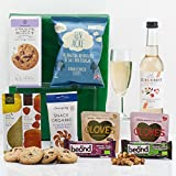 Natures Hampers Gluten-Free Gift Box - Gluten Free Healthy Vegetarian & Vegan Food Treats & Snacks - Birthday for Him - Birthday for Her - Christmas Gifts - Xmas Present