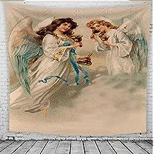 Tapiz Mural Toalla de Playa de Pared nórdica HD patrón Americang ángel Ángeles símbolo de poliéster
