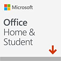 Microsoft Office Home & Student 2019 | si installa su un solo dispositivo PC (Windows 10) o Mac | 1 licenza perpetua…