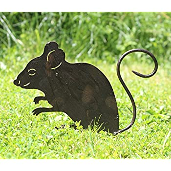 Nostalgic Garden Gartendeko Gartenstecker Maus Zum Stecken