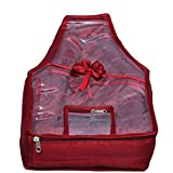 Kuber Industries Fabric Blouse Cover , Maroon (mku83)