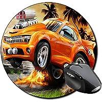 Hot Wheels Tappetino Per Mouse Tondo Round Mousepad PC