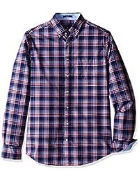 Gant Tech Prep Dobby chemise à carreaux Bleu