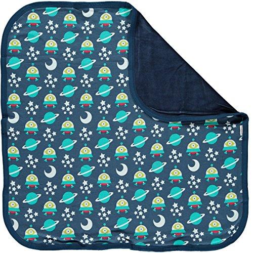 Preisvergleich Produktbild maxomorra Baby Jungen Decke Space Ship Blau