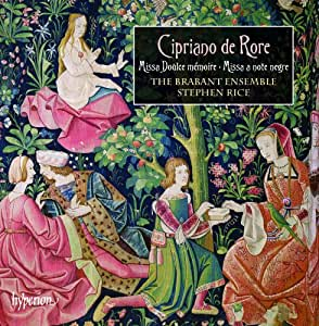 Rore: Missa Doulce Memoire | Missa A Note Negre [The Brabant Ensemble, Stephen Rice] [Hyperion: CDA67913]