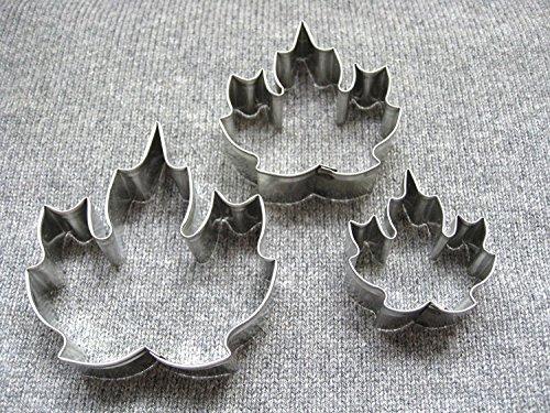 Grape/Maple Leaf Cutter Set Maple Cake Pan
