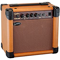 Eagletone Barrow-Amplificador para guitarra acústica 10 w, color marrón