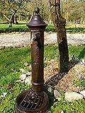 Antikas - Wasser-Zapfstelle als hübscher Standbrunnen, Stehbrunnen mit Messing-Hahn
