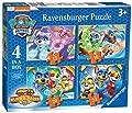 Ravensburger - Puzzle Paw Patrol, pack de 4 (03029) de Ravensburger