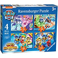 Ravensburger - Puzzle Paw Patrol, pack de 4 (03029)