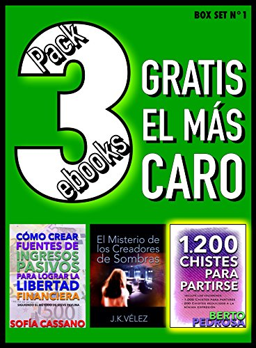 Pack 3 ebooks, Gratis el más caro: Box Set nº1 eBook: Cassano ...