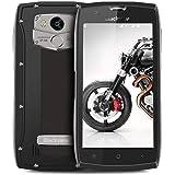 Blackview BV7000Pro Outdoor Handy Smartphone, 64GB ROM + 4GB RAM IP68 Smartphone Wasserdichte Stoßfest Staubdicht, 13MP + 8MP Kameras 5.0 Zoll Display Robust Smartphone,Grau