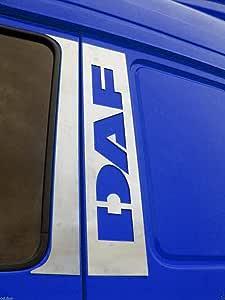 2x Panneau en acier inoxydable poign/ée de porte d/écoration pour CF camions