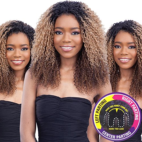FreeTress Equal 3 Way Lace Part Front Lace Wig - LOGAN (1 - Jet Black) by Freetress