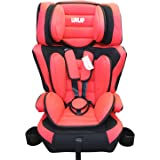 Luvlap 3 in 1 Child Car Seat with foldable holder (Red), Piece of 1