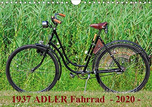 1937-kunst (1937 ADLER Fahrrad (Wandkalender 2020 DIN A4 quer): Adler Damenfahrrad von 1937 (Monatskalender, 14 Seiten ) (CALVENDO Kunst))
