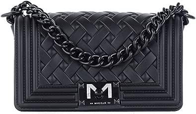 Marc Ellis Borsa flat braid S tracolla black/black
