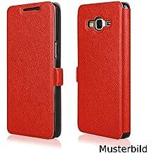 Ego® Piel Sintética Flip Case Soft para smartphone funda Book Wallet Funda Cover portatil funda carcasa funda