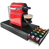 RECAPS Coffee Pod Holder Storage Drawer Compatible with Nespresso Coffee Capsules Kitchen Organizer Cast Iron