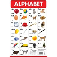 Alphabet - My First Early Learning Wall Posters: For Preschool, Kindergarten, Nursery and Homeschooling (19 inches X 29…