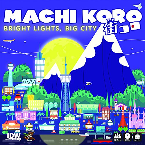 IDW Spiele SEP160613 Machi Koro Bright Lights Big City Kartenspiel