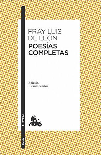 Poesías completas por Fray Luis de León
