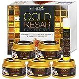 NutriGlow Gold Kesar Facial Kit Instant Radiance Shine & Youthful Glow Facial Kit 250 Gm