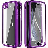 FMPCUON Custodia Integrale Compatibile con iPhone 7 / iPhone 8, Sottile Bumper Cover Telefono Cellulare Protezione 360…