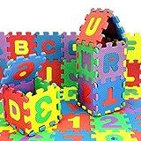 gaddrt 36Pcs Anzahl Alphabet Puzzle Schaum Matten pädagogisches Spielzeug Geschenk