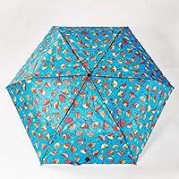 Faye UK Ltd. Eco-Chic Foldable Compact Manual Mini Umbrella Durable Robin