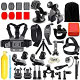 Gopro Zubehör Set, Iextreme 45-in-1 Action Kamera Bundle Set für GoPro Hero 6/5/4/3+/3/2/1 SJ4000 SJ7000 DBPOWER AKASO