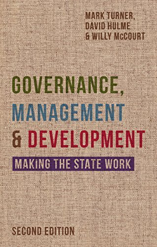 Governance, Management and Development: Making the State Work by Mark Turner (2015-08-04)
