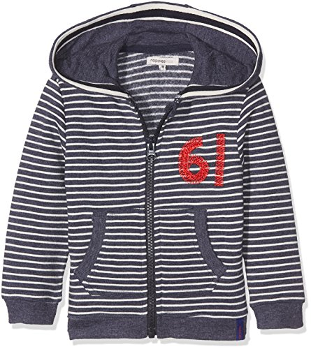 Noppies Jungen Strickjacke B Cardigan Sweat Ls Gavi Str, Grau (Navy Melange C167), 110