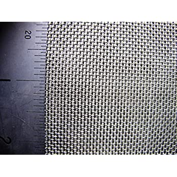 Brass Mesh Coarse 1 x 1.2 Metre 16 LPI x 1.21mm Hole x 0.375mm Wire