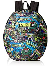 "Nickelodeon Boys' Tmnt Comic Book Time 3d Shell 16"" Backpack"
