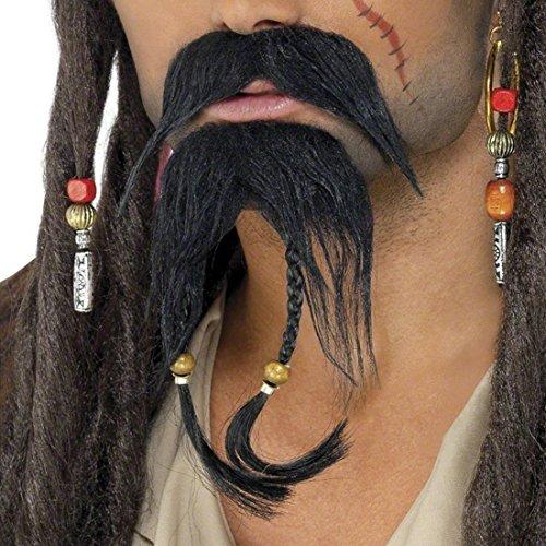 Bart Set Pirat Jack Sparrow Piraten Bart Kunstbart