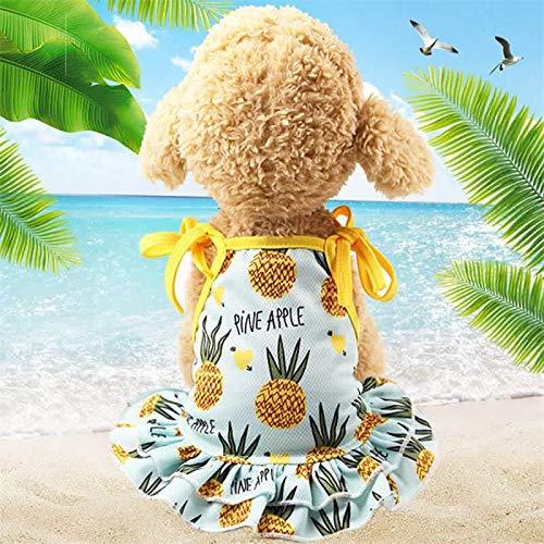 Yichener Sommer-Haustier Paar-Kostüm für kleine Hunde Mode süße Haustierkleidung Weste Welpen Kleidung Chihuahua - Süßes Paar Kostüm