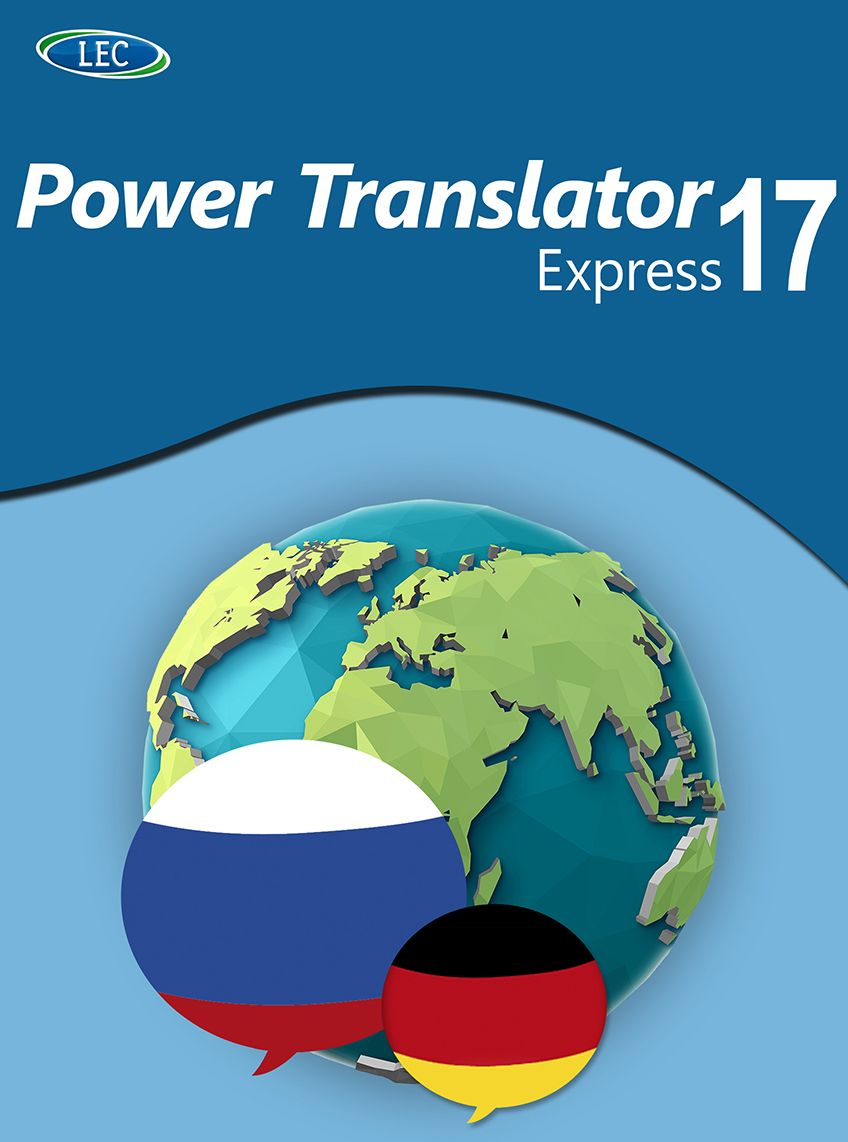 Power Translator 17 Express Deutsch-Russisch: Der komfortable Deutsch-Russisch-Übersetzer für den Desktop! Windows 10|8|7 [Online Code] (übersetzer Portugiesisch-deutsch)