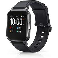 AUKEY Smartwatch, 1,4 Zoll, Farbdisplay 320p, Touchbedienung, Fitnesstracker, wasserdicht IP68, Herzfrequenzsensor…