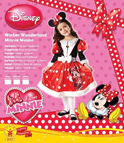 Imagen de rubbies  disfraz de minnie mouse para niña, talla m 5  6 años  881872m  alternativa