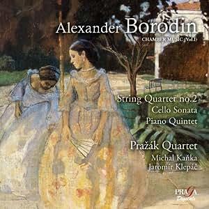 Musique de chambre vol. 1. quatuor a cordes n° 2 sonate pour violoncelle. quinte