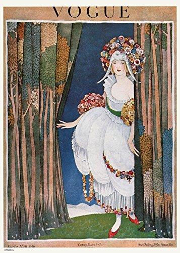 onthewall Vintage Vogue kann 1919Poster Kunstdruck Vintage Und Vogue